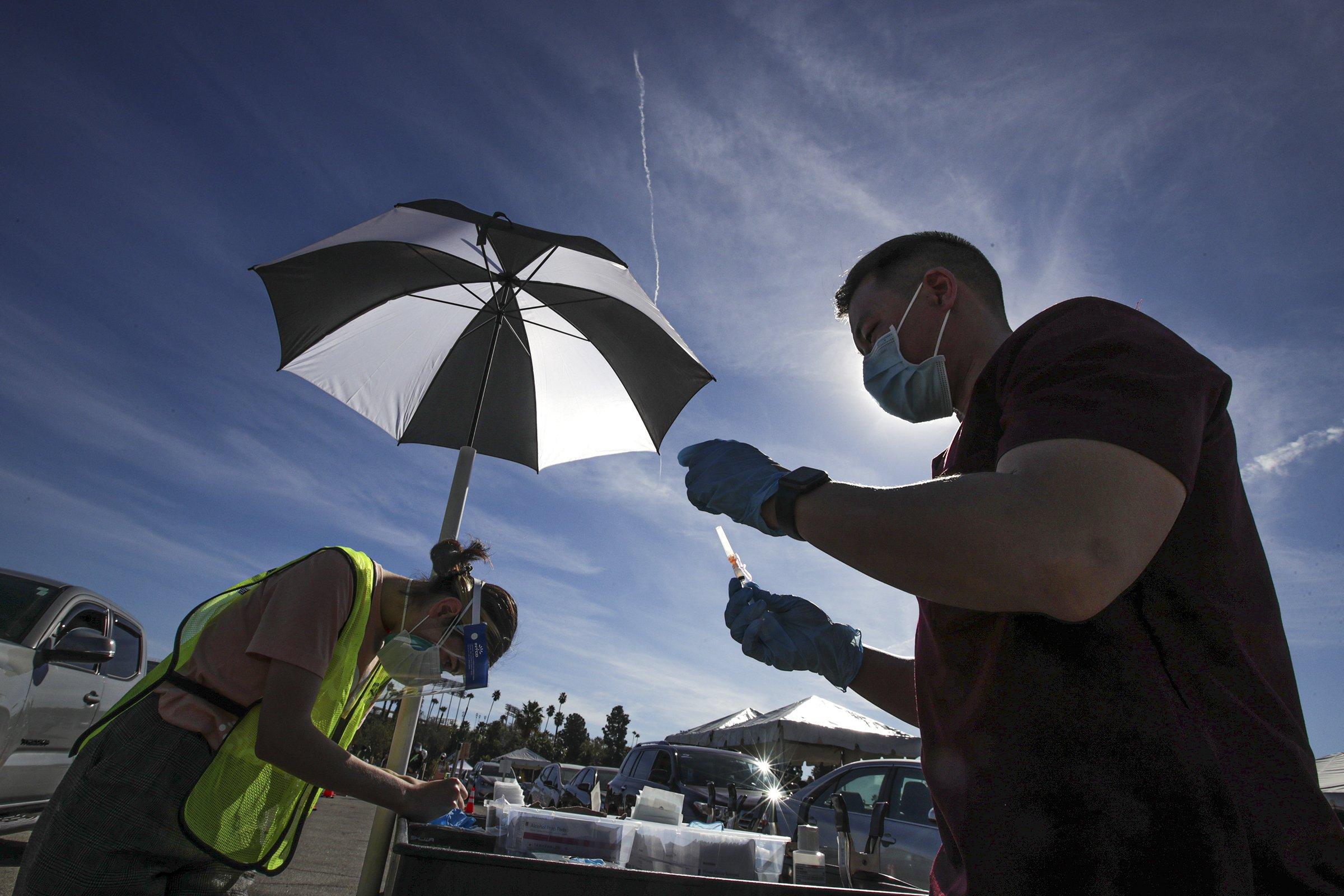 apnews.com: The Latest: Wisconsin gov blasts empty federal vaccine vow
