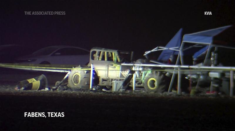 One Person Dead, Seven Injured in Crash at West Texas Mud Race