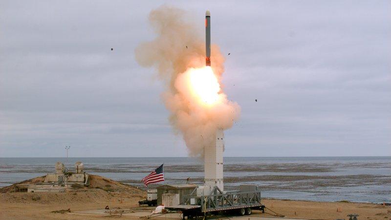 Pentagon tests once-banned missile
