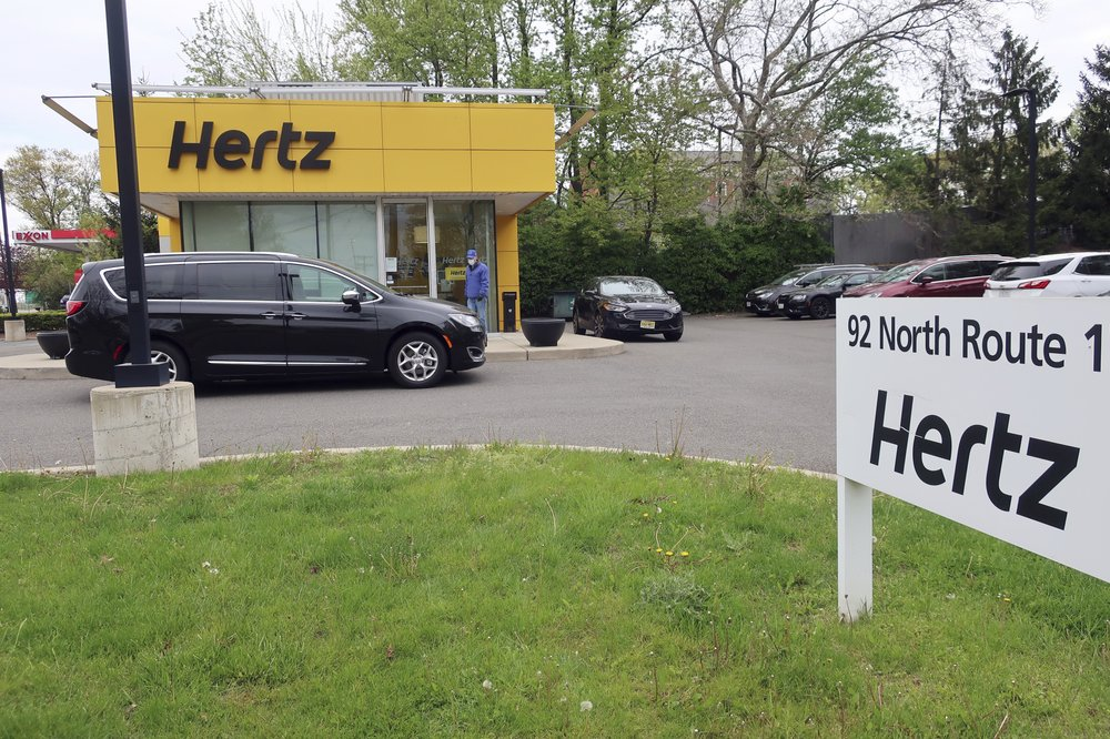 Hertz falls into bankruptcy protection