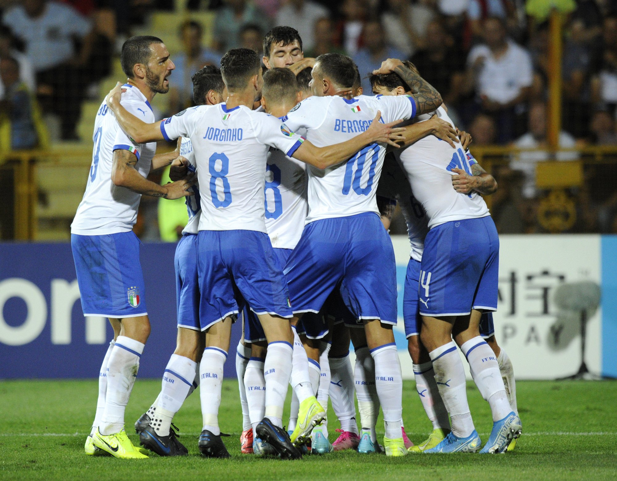 After World Cup failure, Italy perfect in Euro 2020 run-up