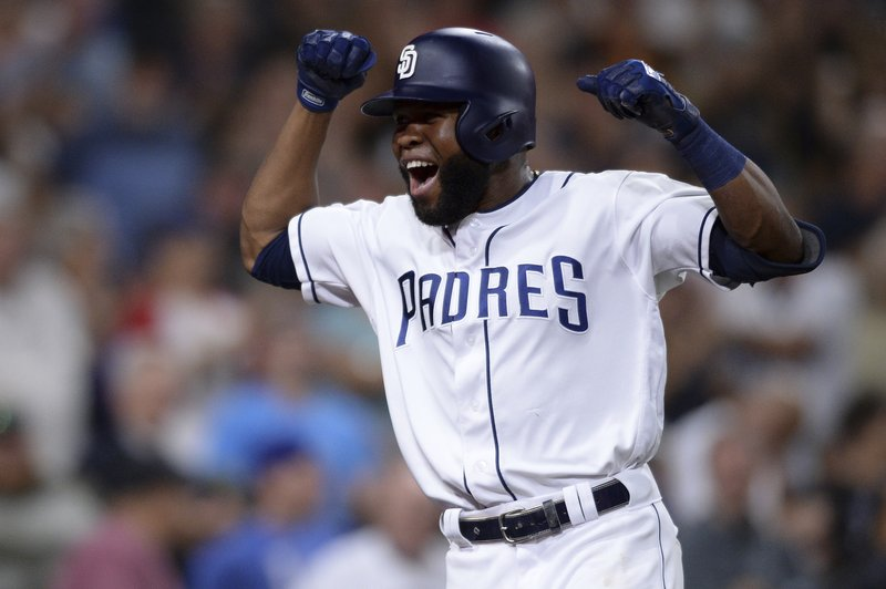 Margot, Renfroe lead Padres over staggering Rockies 8-5