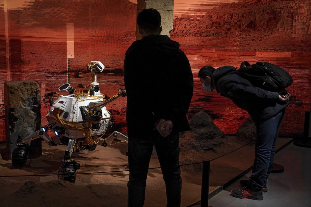 China's Tianwen-1 spacecraft enters parking orbit around Mars in anticipation of landing a rover