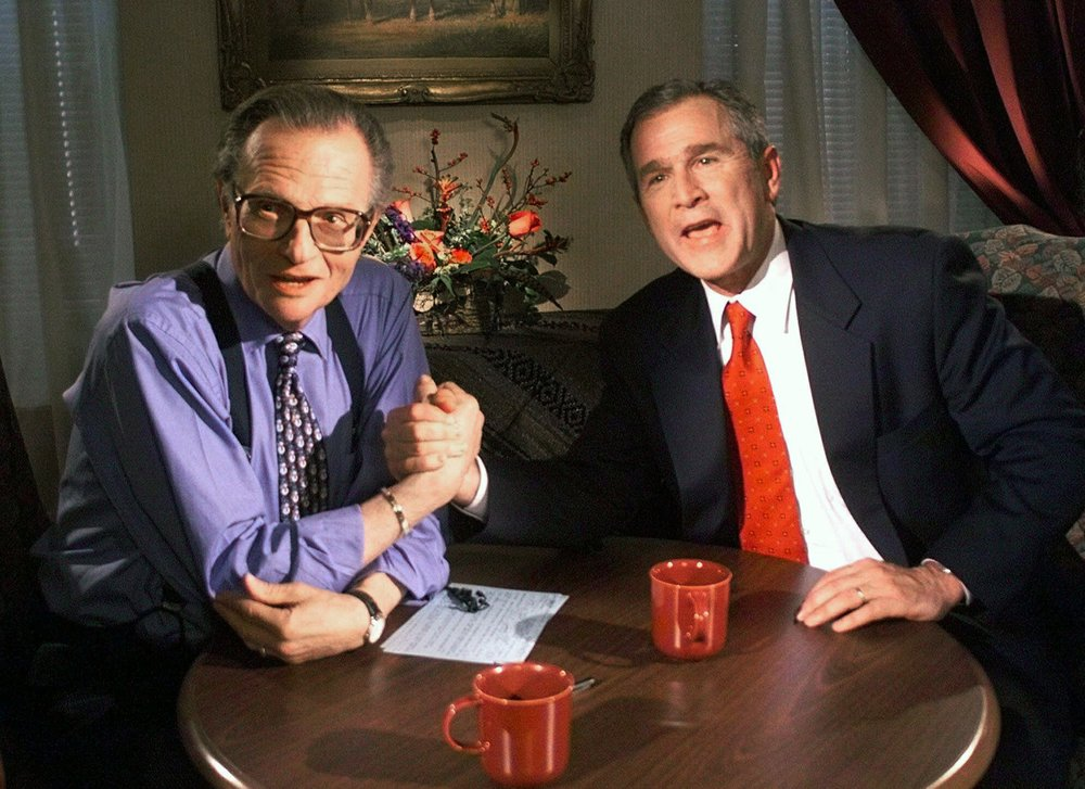 Larry King loved by all – from presidents to faded stars