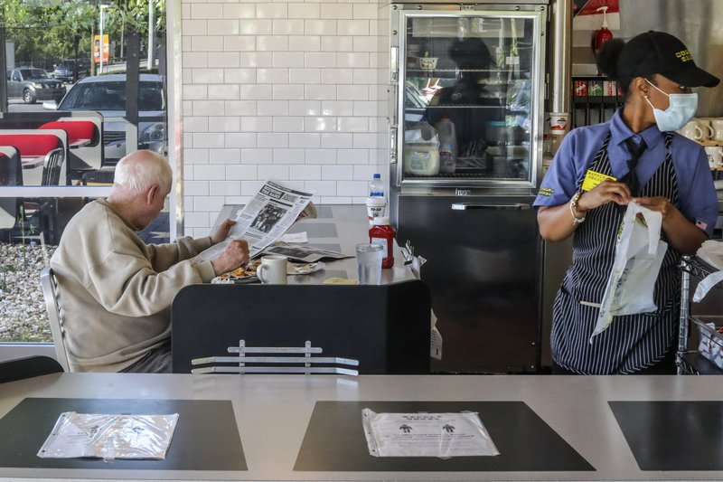 Masks Temperature Checks Mark New Normal At Restaurants