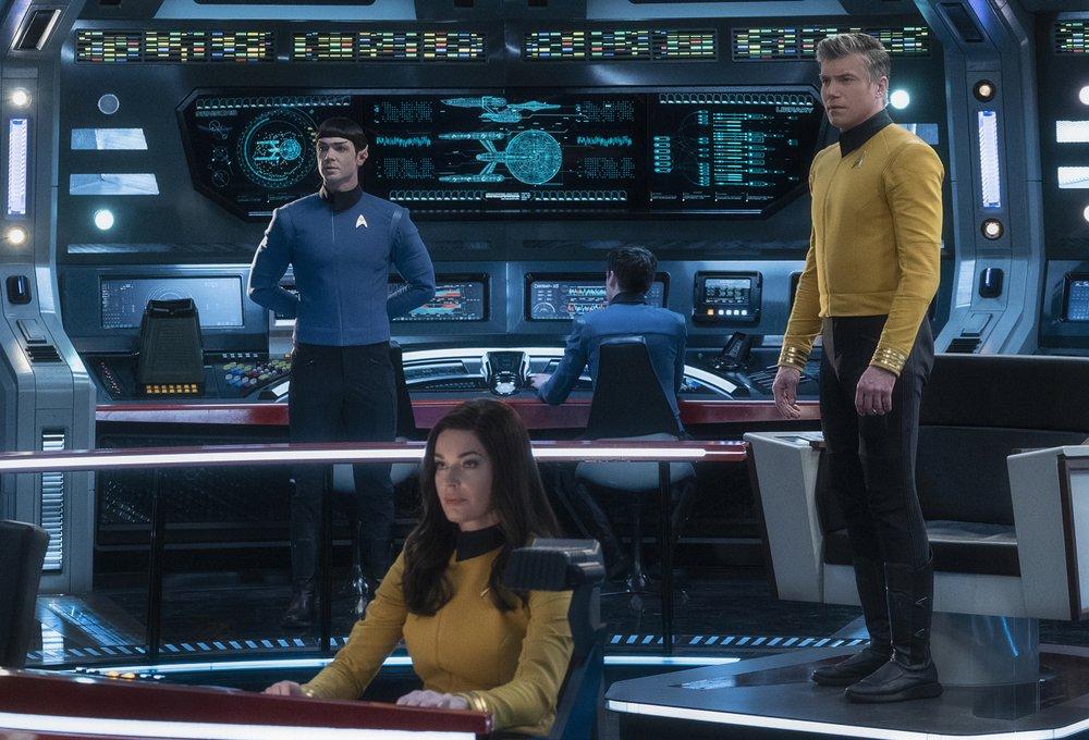 """Beam them up"" –Captain Pike the new Captain Kirk of ""Star Trek"""