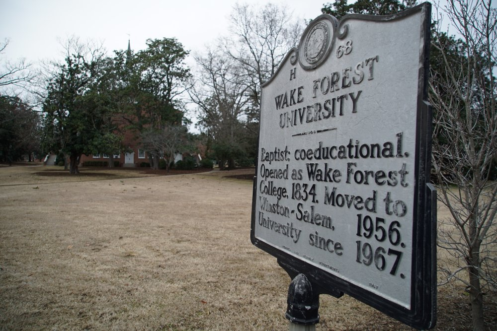 Wake Forest University Apologizes for Slavery in University's Past