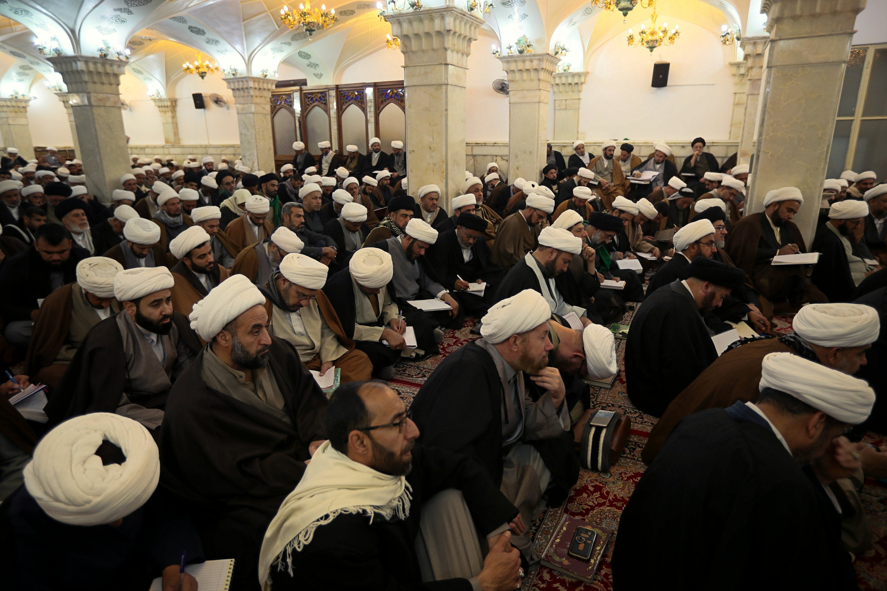 Aging Shiite cleric a powerhouse in Iraq. What comes after?