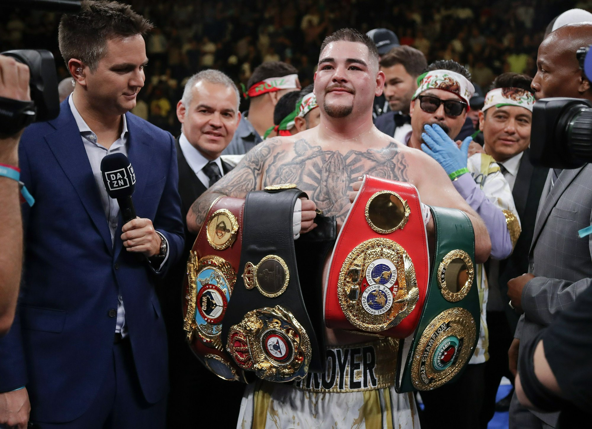 Image result for ruiz next opponent