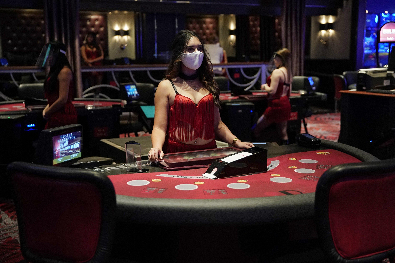 Vegas, baby! Casinos reopen after long coronavirus closure