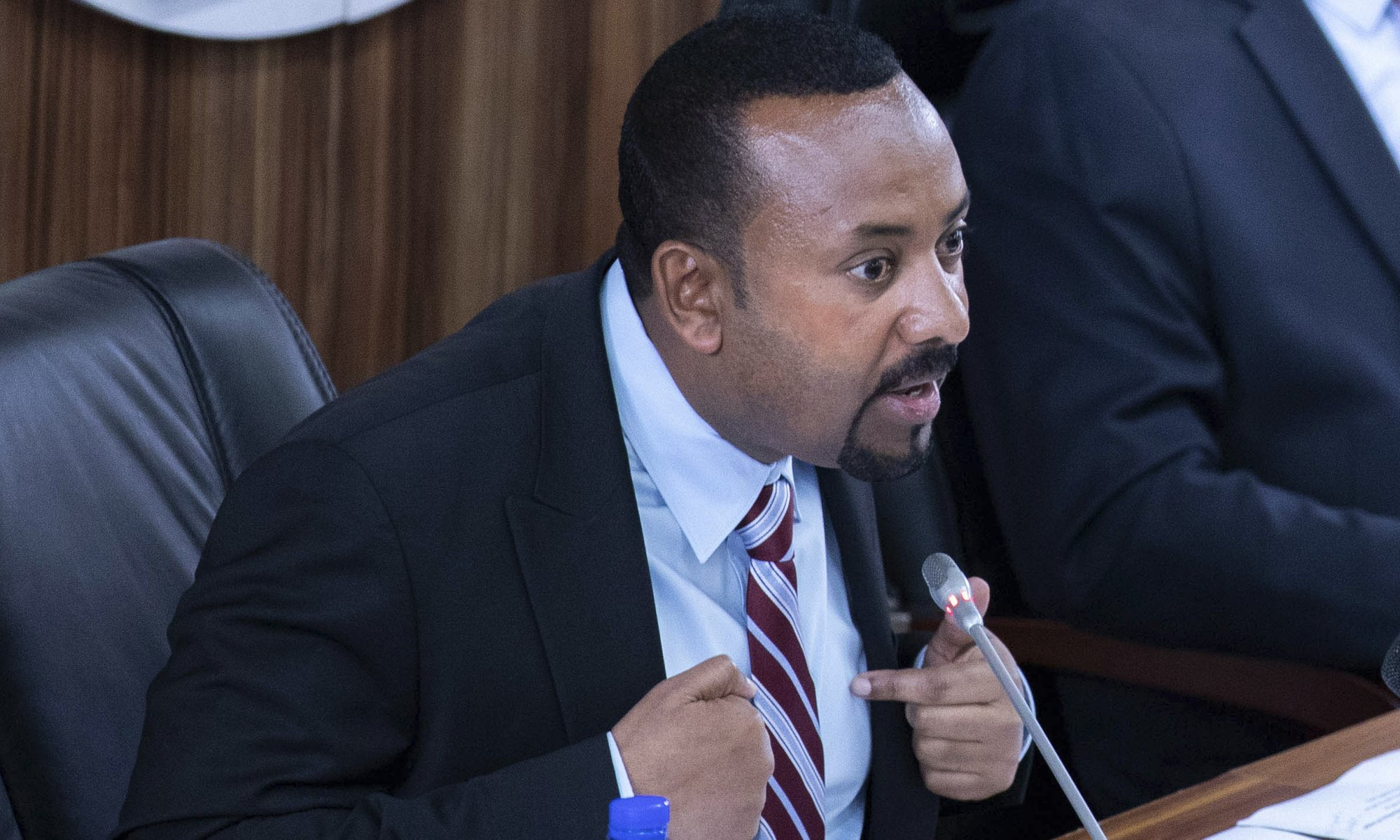 Ethiopia's Nobel-winning leader issues warning over dam