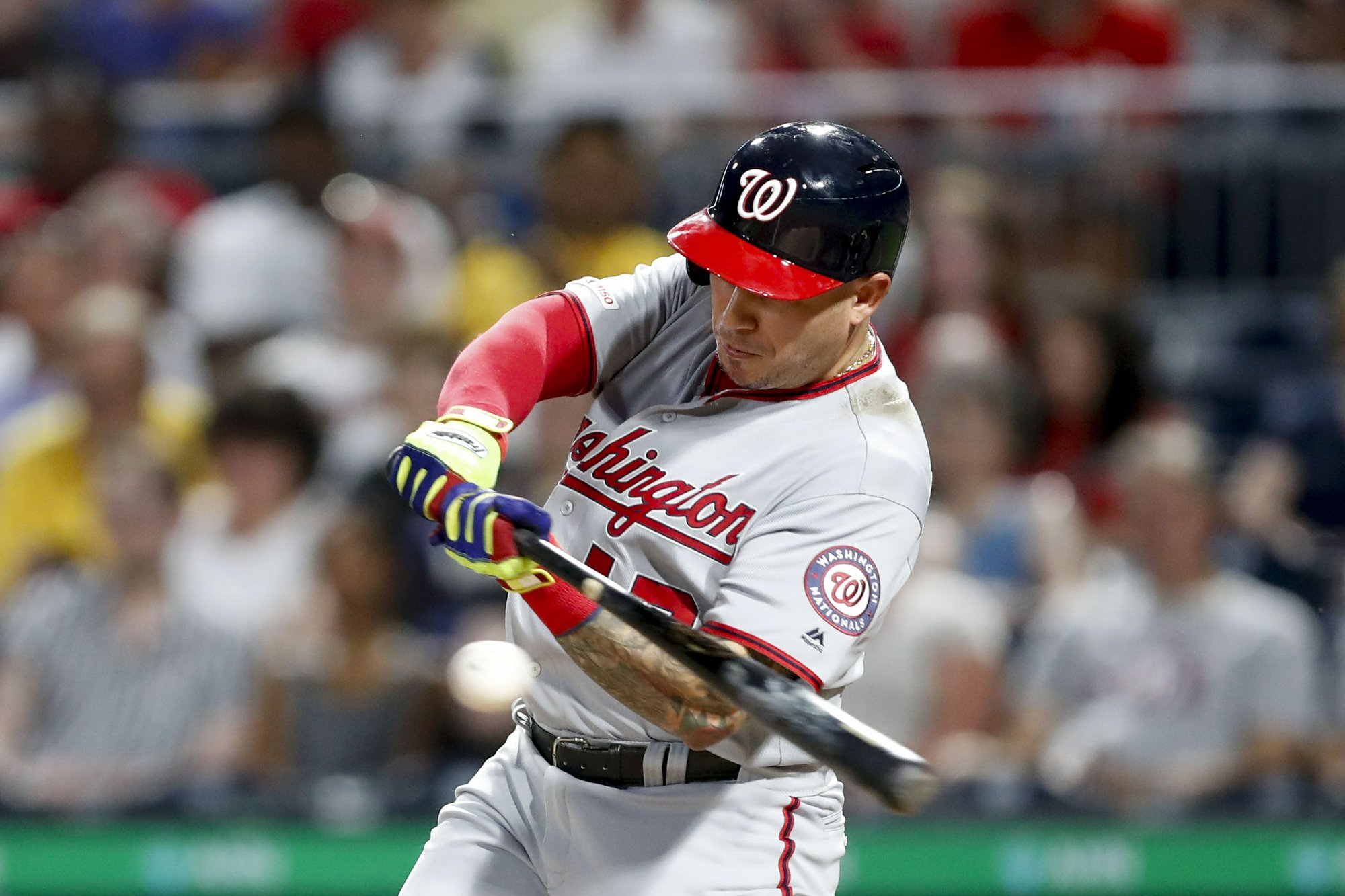 Nationals continue onslaught with 4 HRs, pound Pirates 13-0