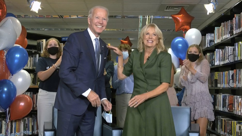 No one knows a husband better than his wife; Listen to Jill Biden as she endorses her husband, Joe Biden