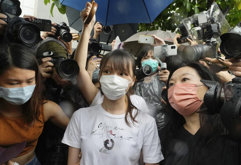 Agnes Chow, Prominent Hong Kong Pro-Democracy Activist, is Released from Prison After Seven Months