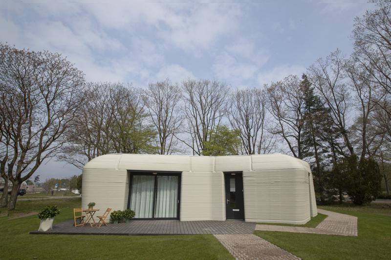 Casa construida con impresora 3D en Holanda amplía opciones