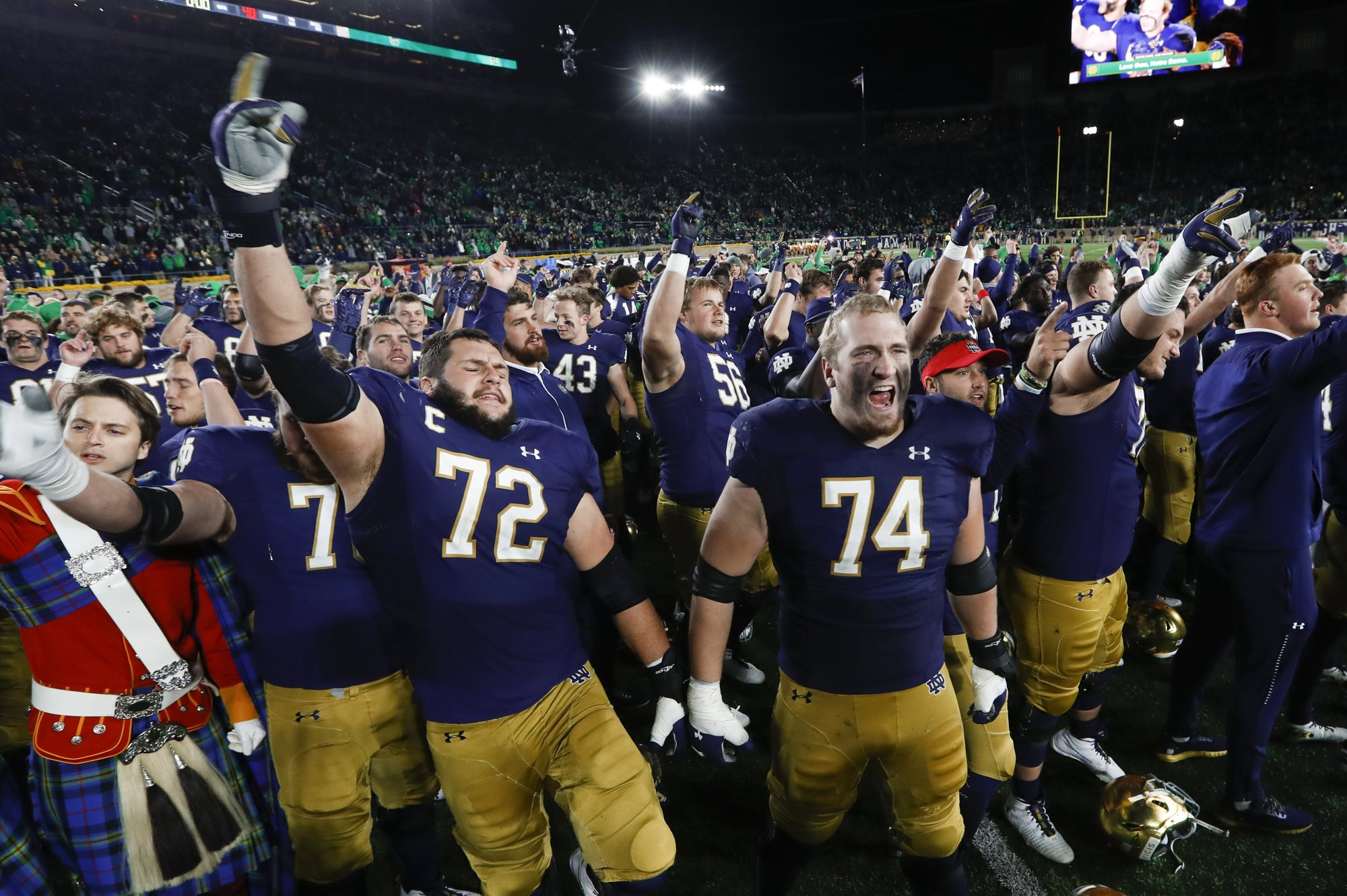 No. 8 Irish need to win out and have help for playoff berth
