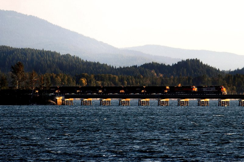 US officials OK railroad's plan for northern Idaho bridges