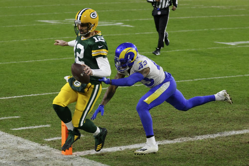 Green Bay Packers Beat Los Angeles Rams 32-18 to Host First NFC Title Game Since 2007
