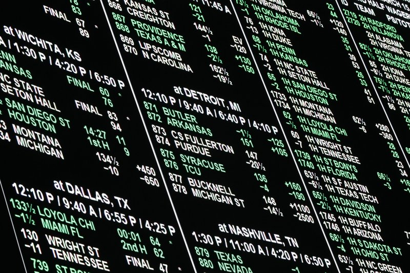 las vegas odds for sports betting