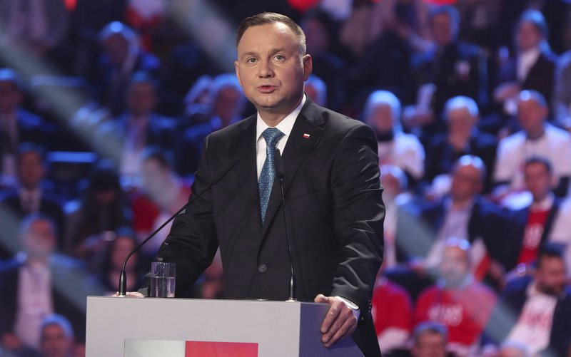 Polish president Andrzej Duda signs bill for millions of dollars to fund public media