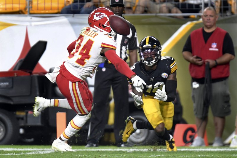wholesale dealer 23c49 3e600 Steelers WR Johnson dedicates rookie year to late coach