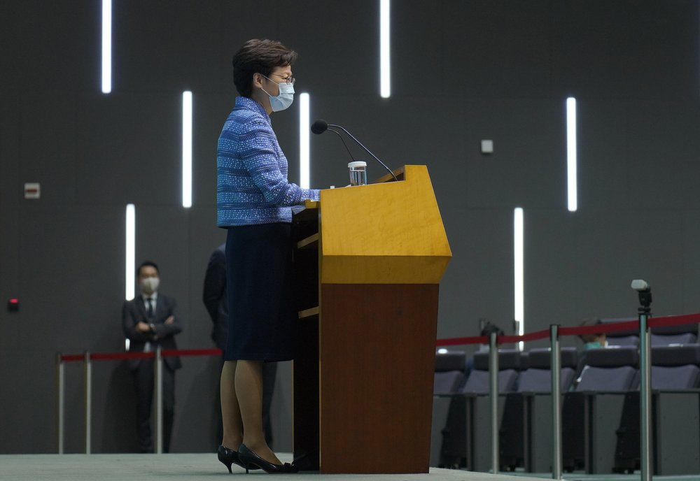 Hong Kong's Carrie Lam says China's national security legislation  will not affect them at all