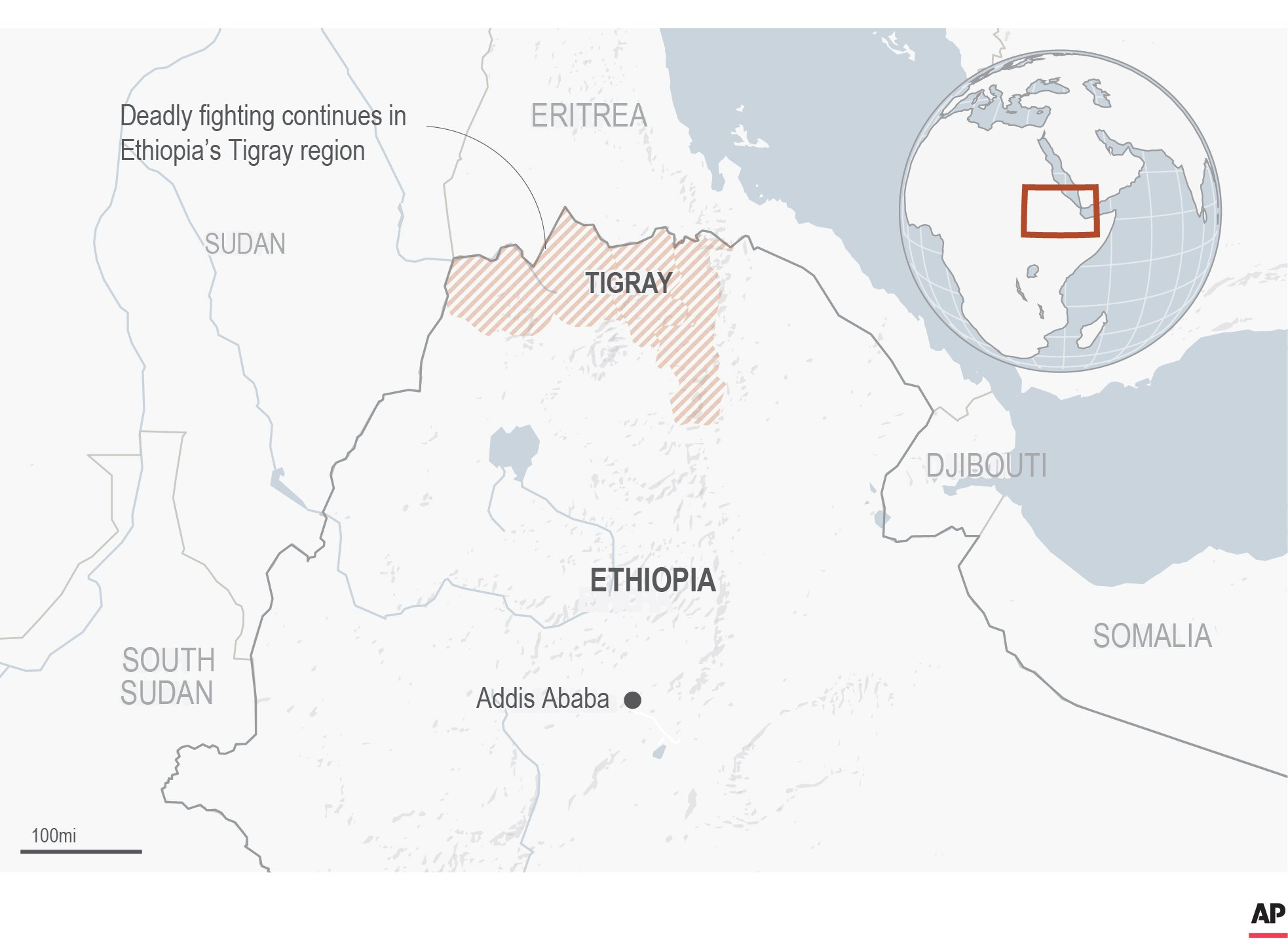 First witness account emerges of Ethiopians fleeing conflict
