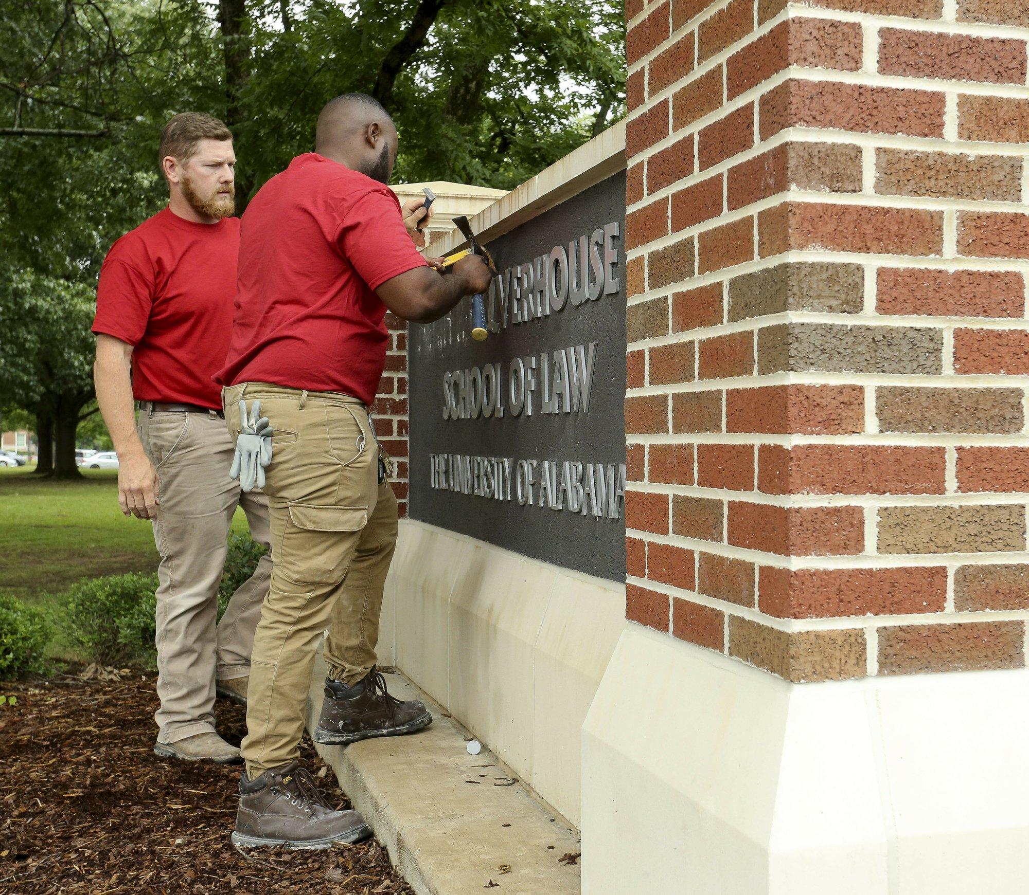 The Latest: Donor says university is punishing him