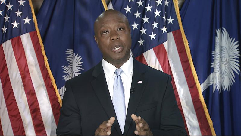 GOP's Sen. Tim Scott rebutts Biden's address; says Democrats are dividing the country, usin race as political weapon
