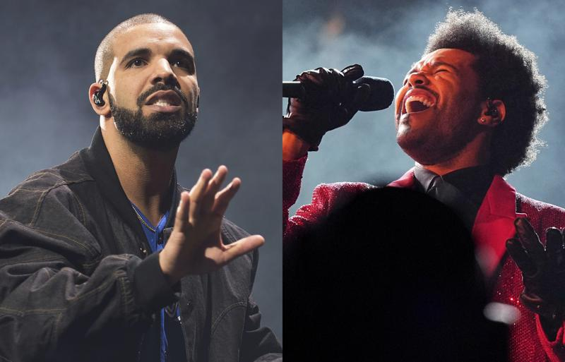 Drake, The Weeknd poised for big night at Billboard Awards