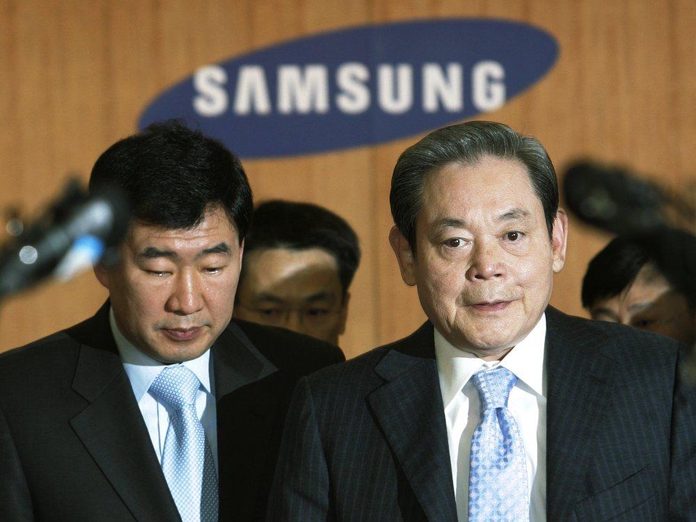 The force behind Samsung's rise, Lee Kun-Hee, dies at 78