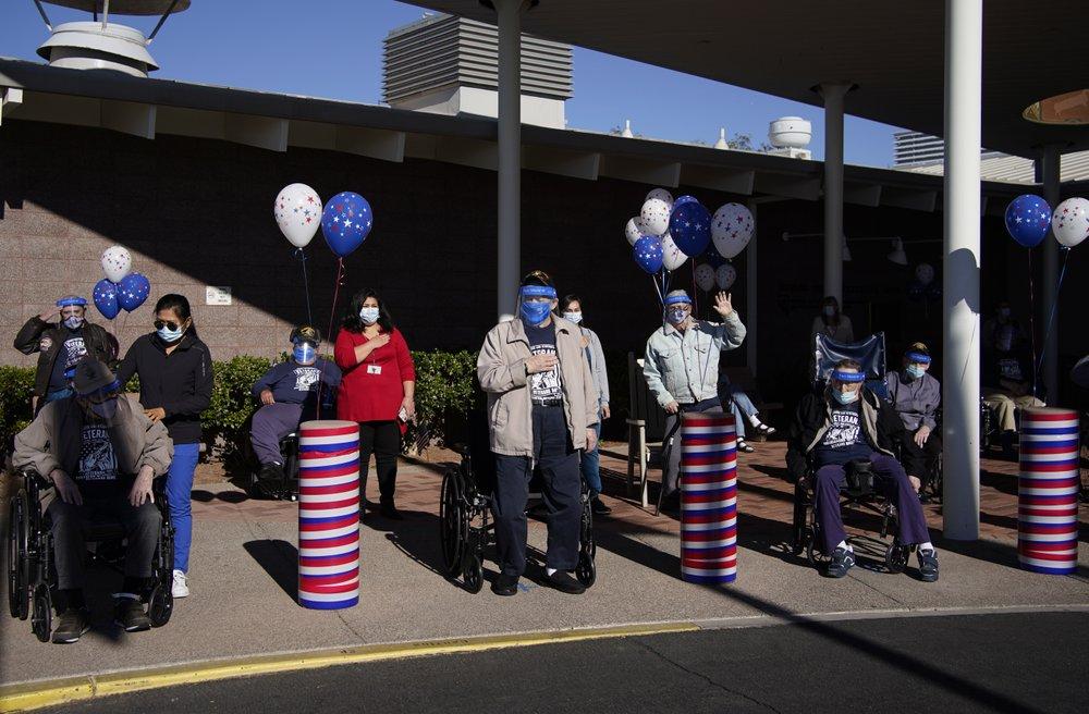 Nevada marks somber Veterans Day as coronavirus surges