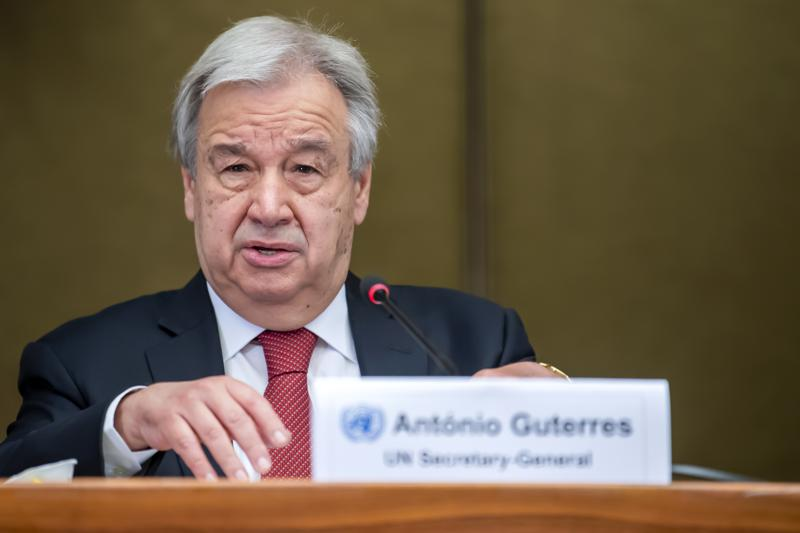 U.N. Chief Antonio Guterres Begs for Immediate Stop to Fighting Between Israel and Gaza