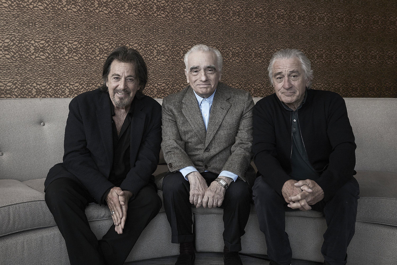 Scorsese, De Niro and Pacino on time and 'The Irishman'