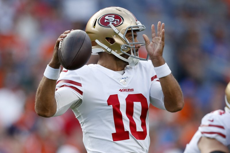 Garappolo Shaky In 49ers 24 15 Win Over Broncos