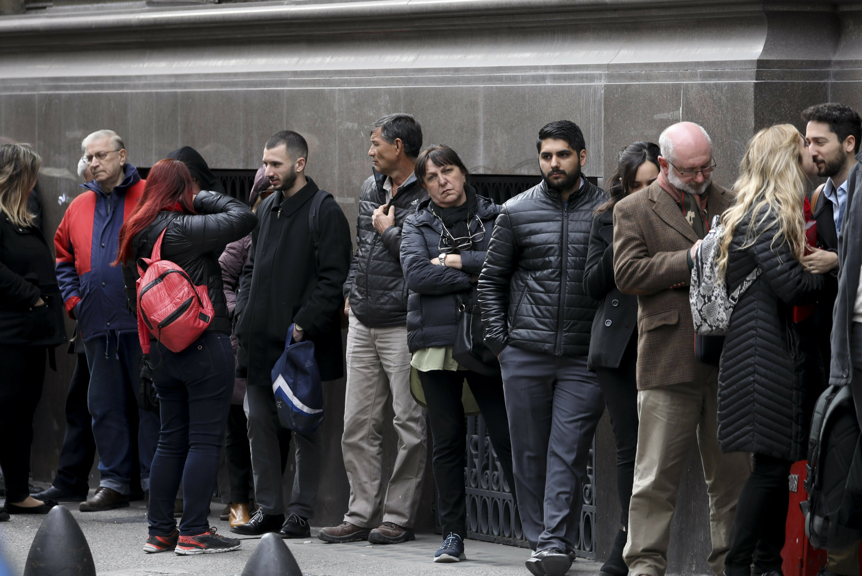 Restrictions on hard currency take effect in Argentina.