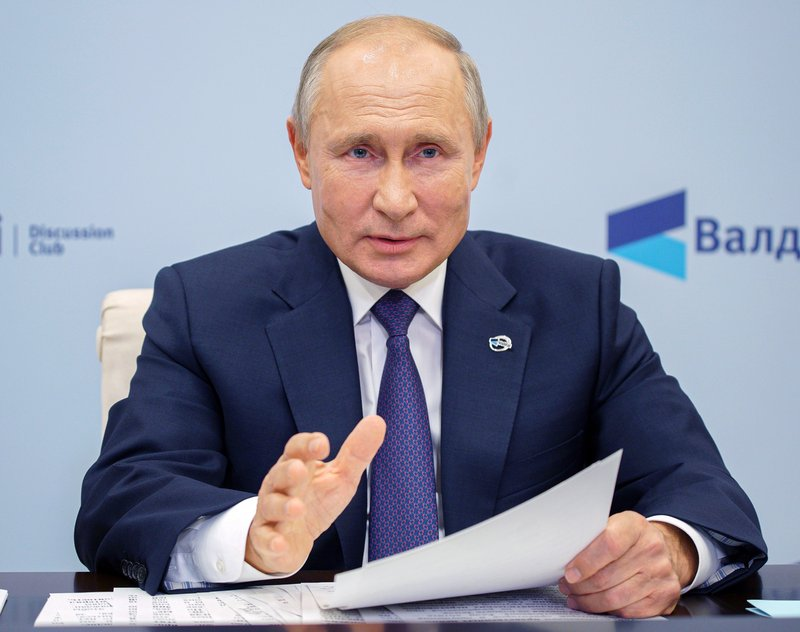 Putin Russia China Military Alliance Can T Be Ruled Out