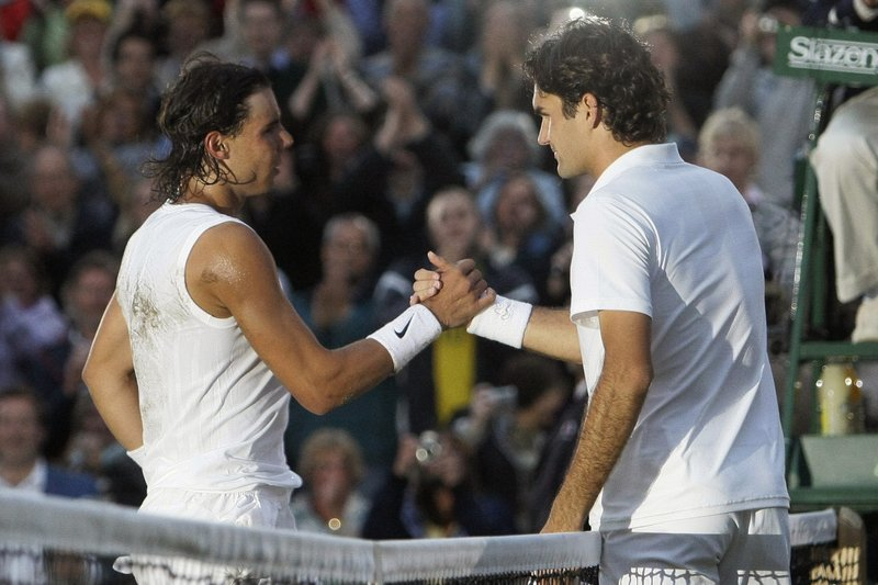 Ap Was There Nadal Edges Federer 9 7 In 5th At Wimbledon
