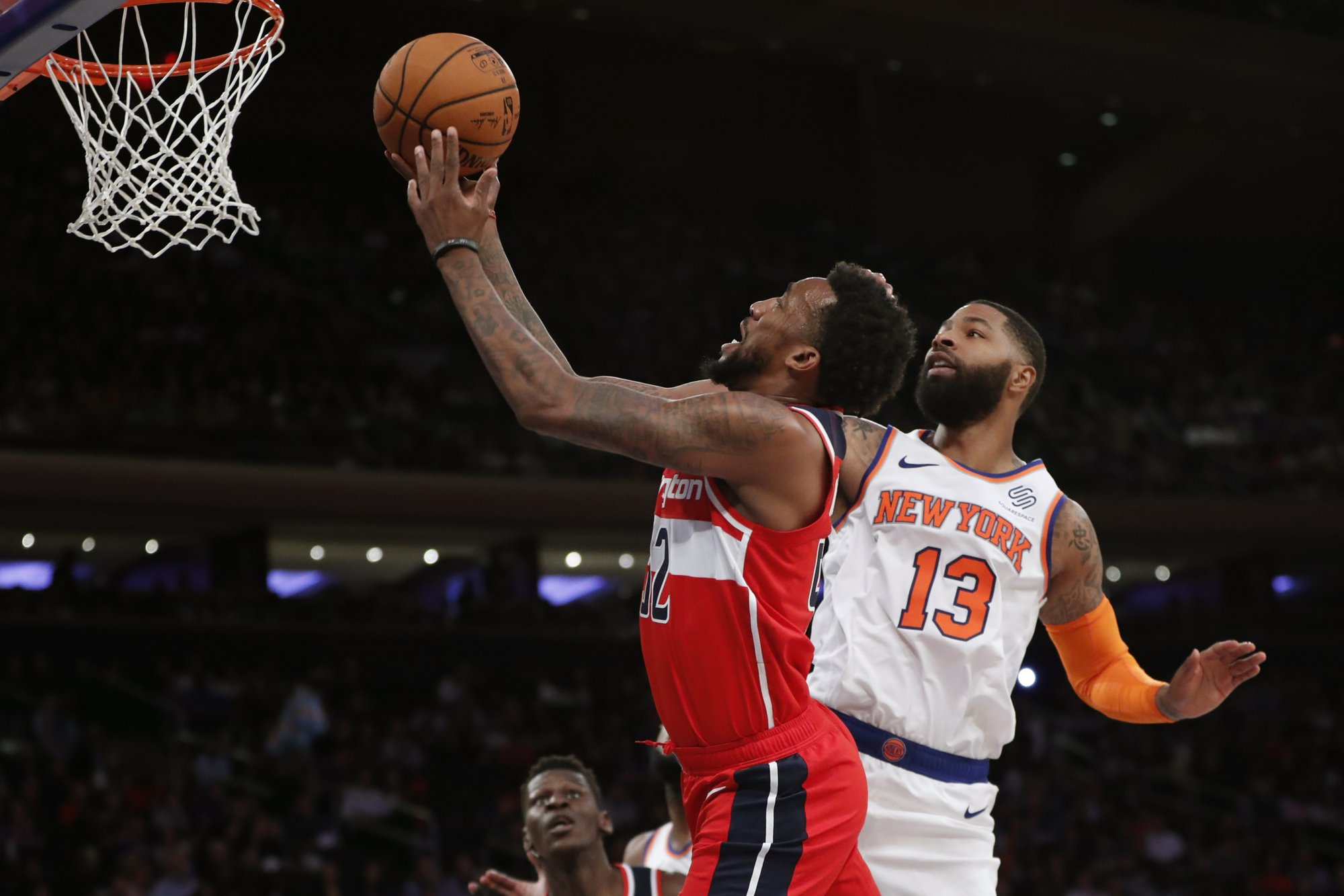 Knicks may be short on talent but vow to show toughness