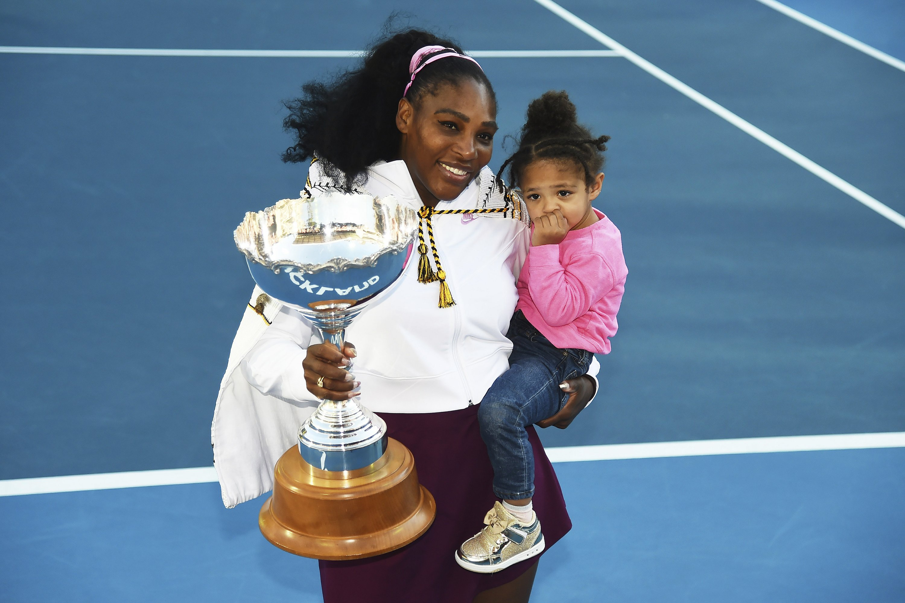 'It feels good': Serena Williams ends 3-year title drought