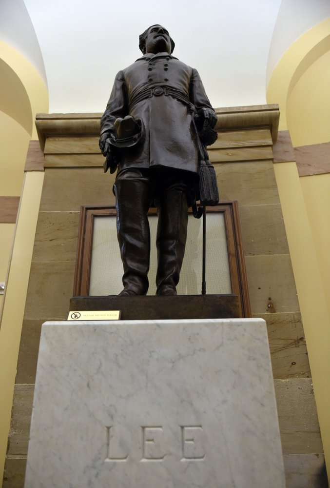 Bill approved to remove statues of Gen. Robert E. Lee and other Confederate leaders from the U.S. Capitol