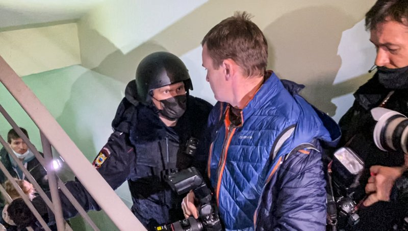 Moscow Police Arrest Brother of Jailed Opposition Leader Alexei Navalny