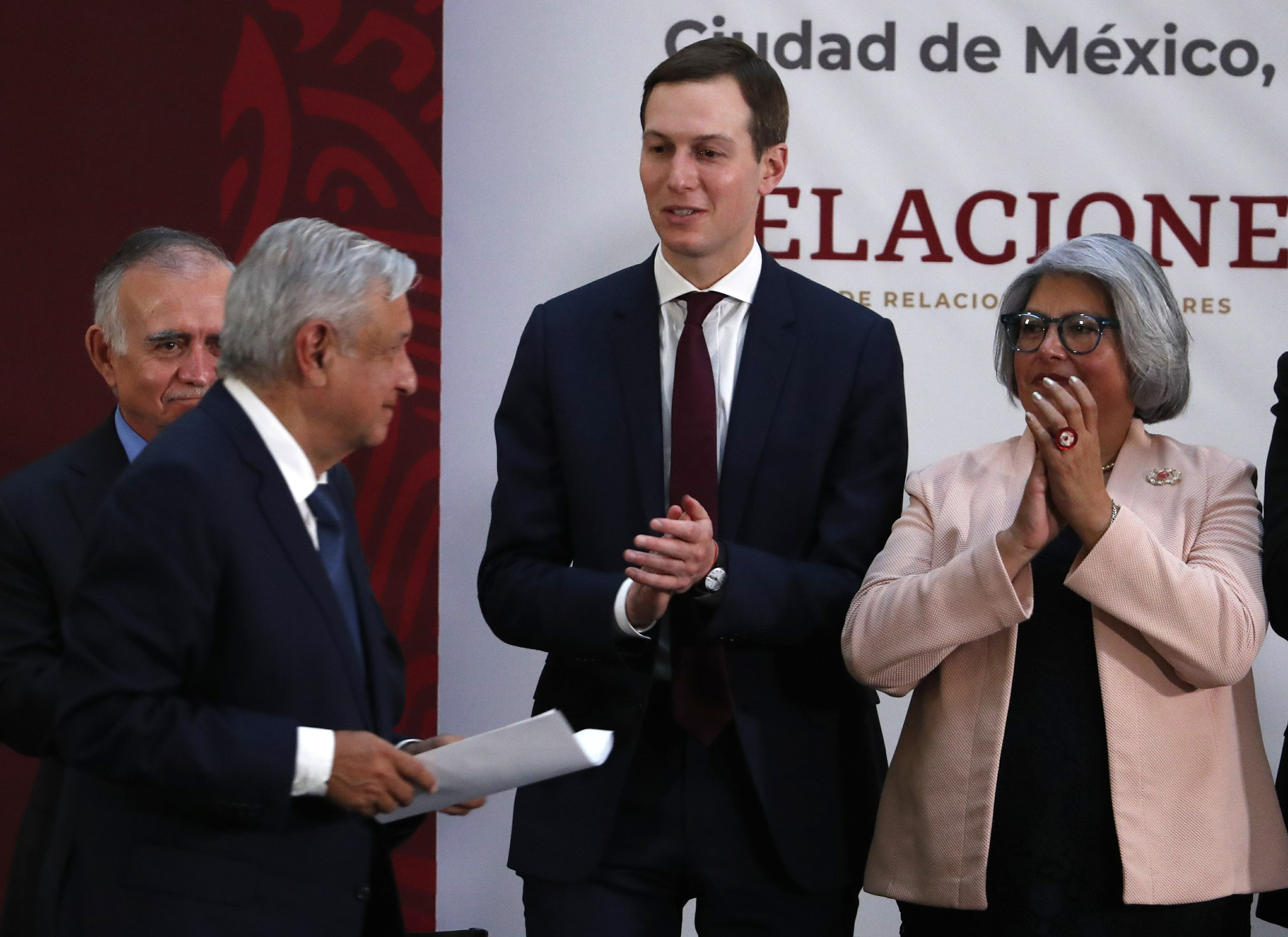 Mexico disputes language in US bill on ratifying trade pact