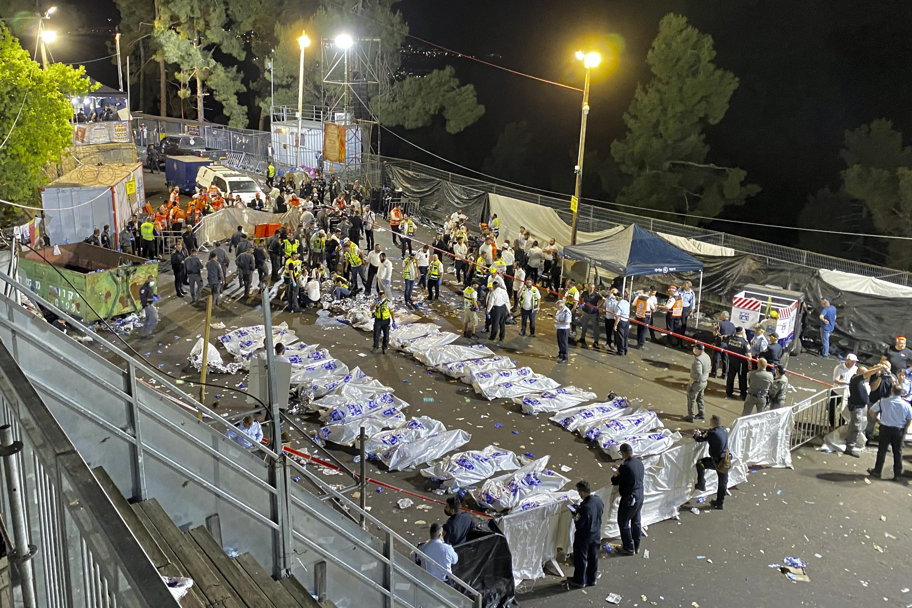Religious festival stampede in Israel kills 44, hurts dozens – The Associated Press