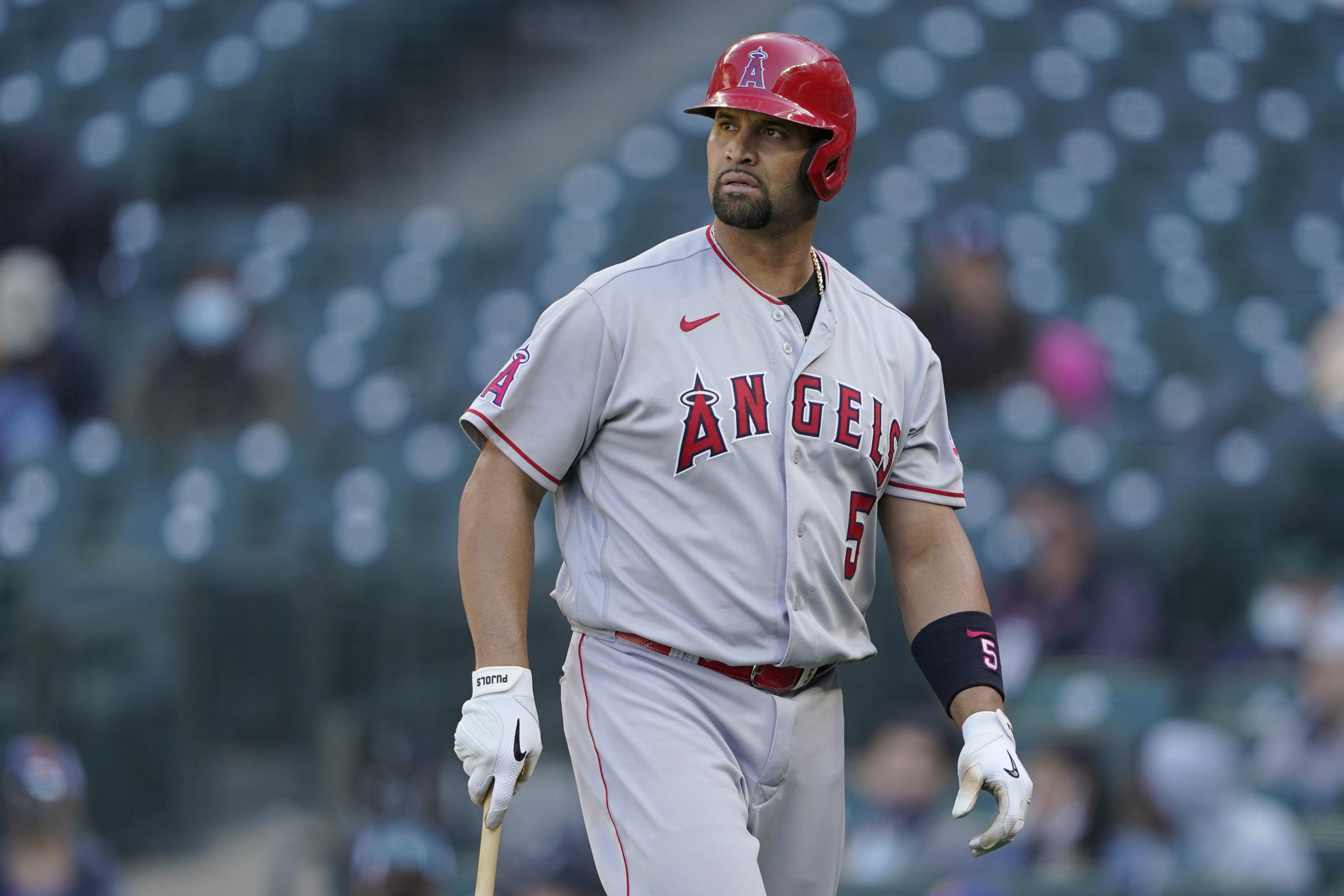 Slugger Albert Pujols designated for assignment by Angels
