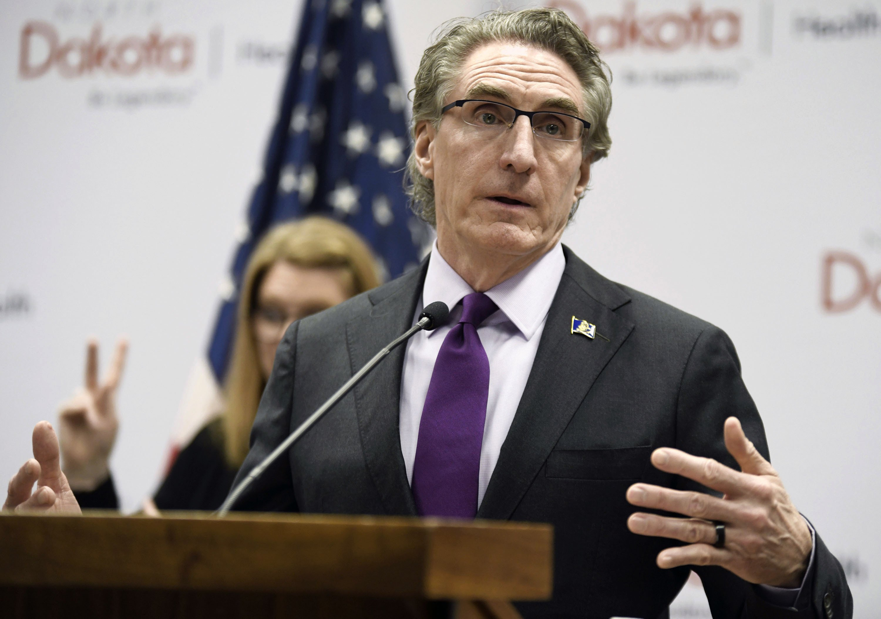 North Dakota governor changes tack and issues mask mandate – The Associated Press