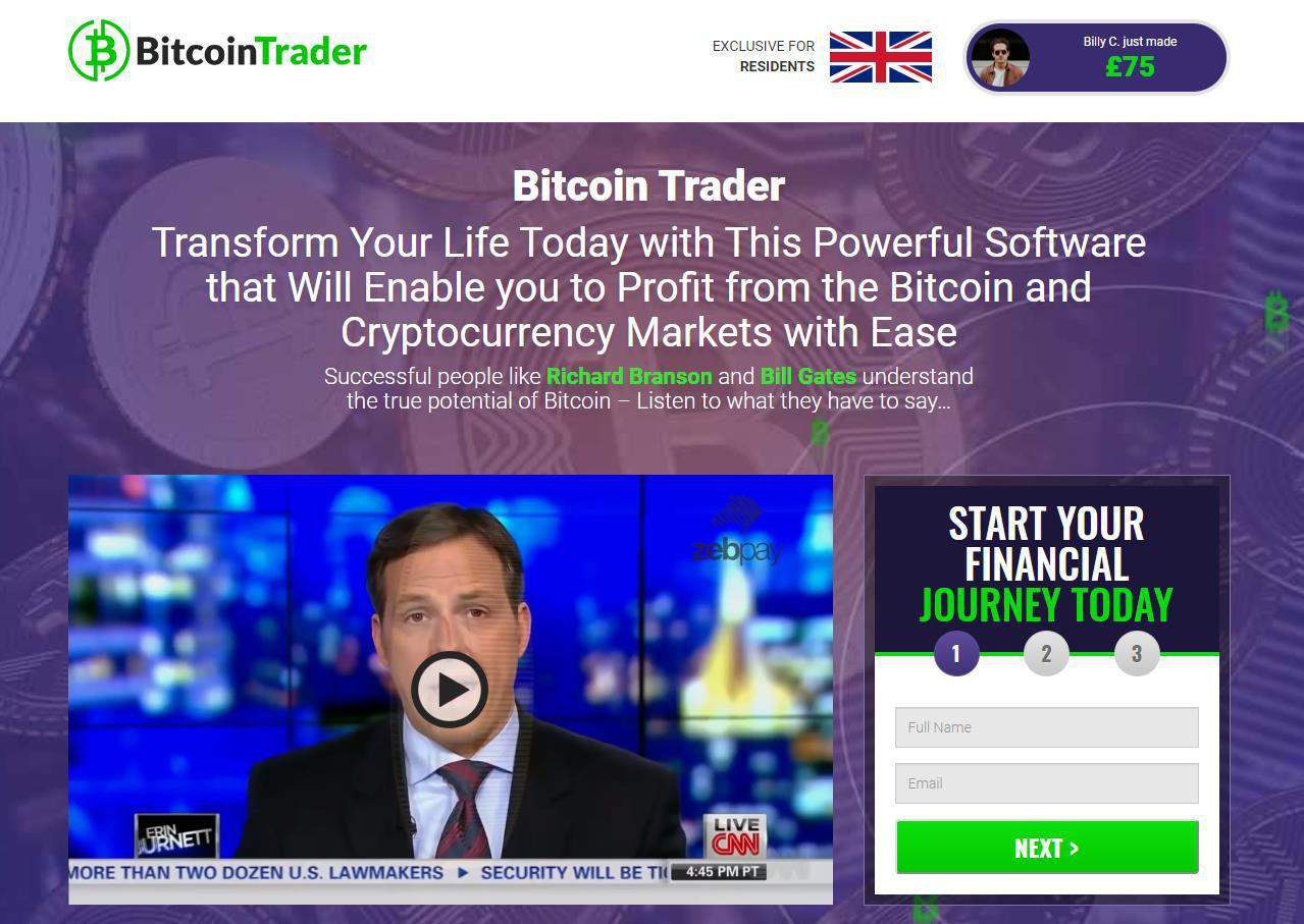 bitcoin trader trading platform)