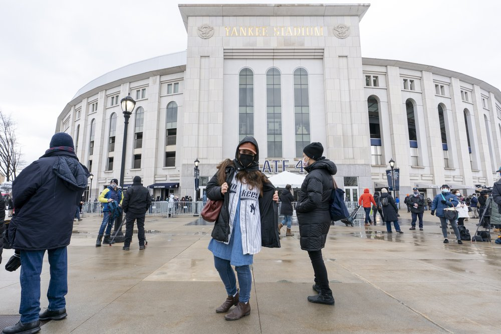 Yankee Stadium becomes mass vaccination site