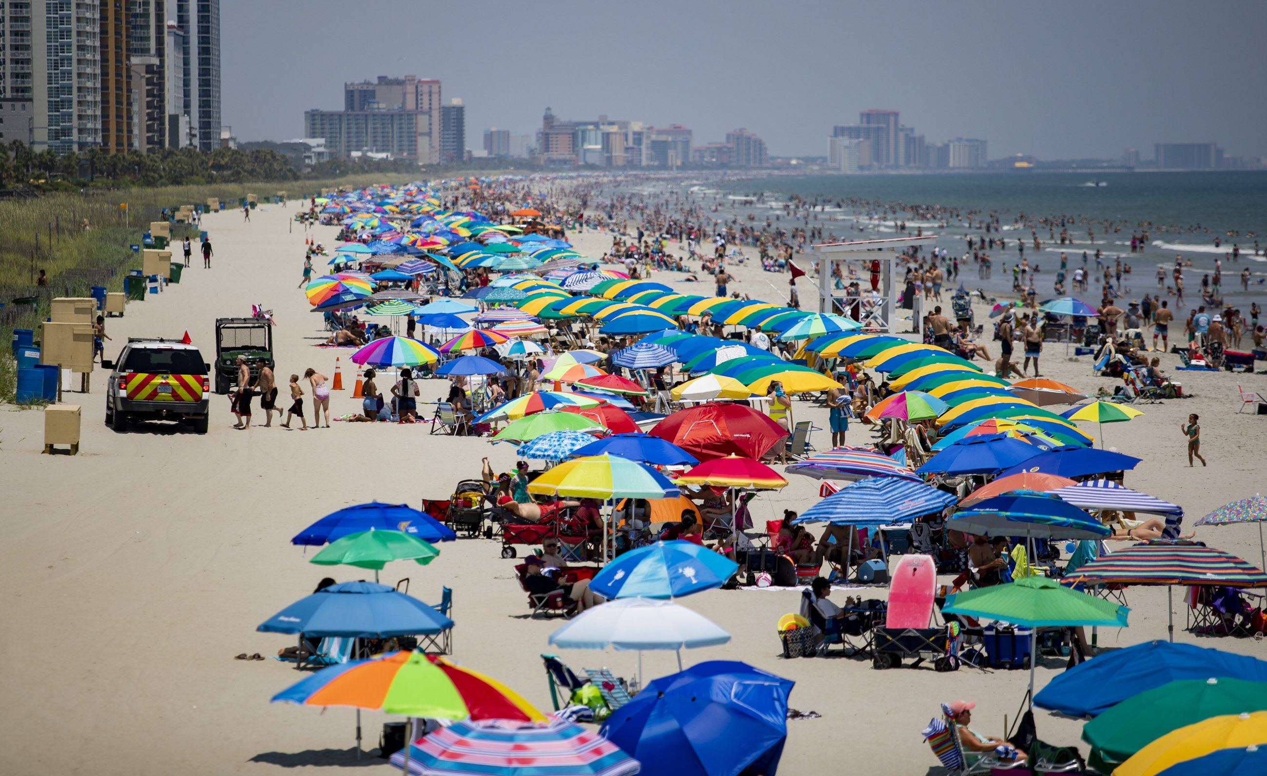 South Carolina unemployment falls, but tourism jobs vanish