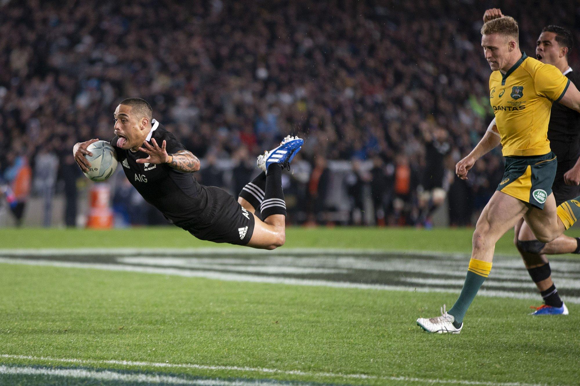 New Zealand thrashes Australia 36-0 to retain Bledisloe Cup